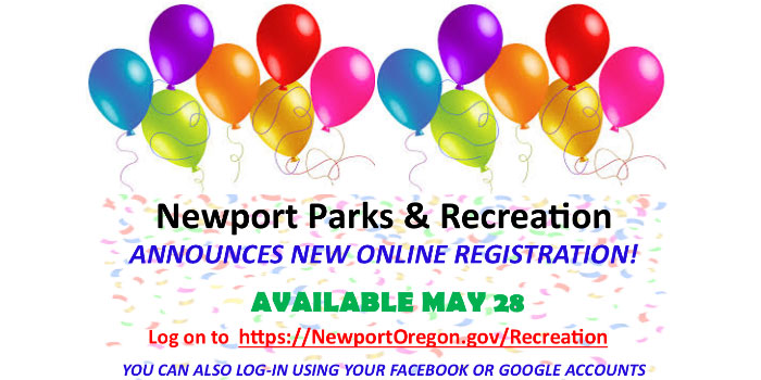 Newport Parks & Recreation new Online Registration Software - Available May 28th