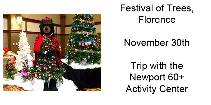 Festival of Trees - trip with the 60+ Activity Center