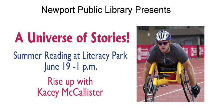 Summer Reading at Literacy Park - Rise up with Kacey McCallister - June 19th