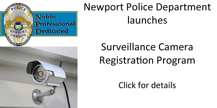 Newport Police launch Surveillance Camera Registration Program