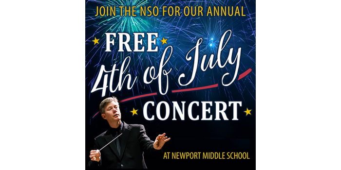 Free 4th of July Concert with the Newport Symphony Orchestra