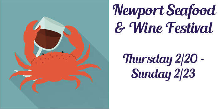Seafood and Wine Festival 2020 - February 20th-23rd