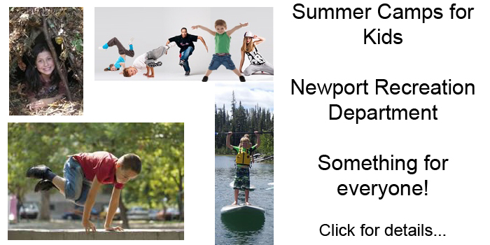 Summer Camps for Kids - with Newport Parks & Recreation - Something for Everyone