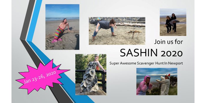 Newport Parks & Recreation presents SASHIN 2020 - Super Awesome Scavenger Hunt in Newport