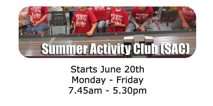 Summer Activity Club - Sign up now!