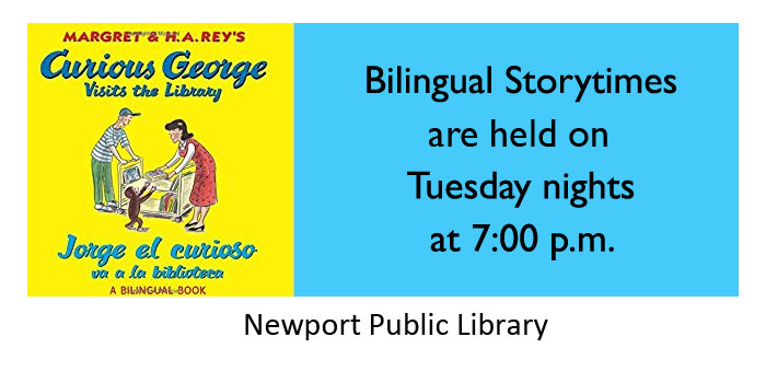 Bilingual Storytime at the Newport Library