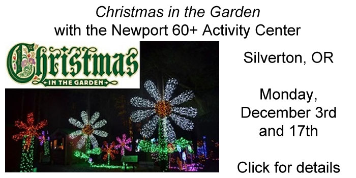 Christmas in the Garden, Silverton - Trip with the 60+ Activity Center