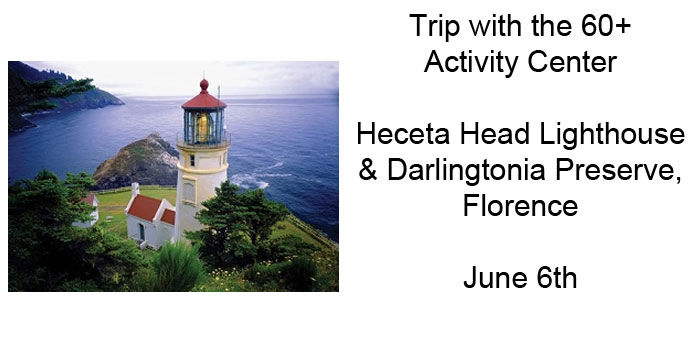 Trip to Heceta Head with the 60+ Center