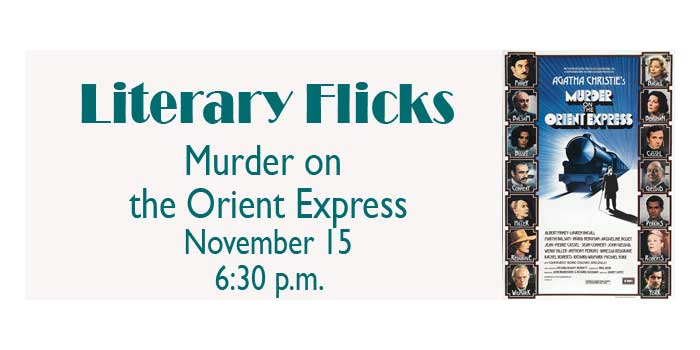 Literary Flick @ Library - Murder on the Orient Express