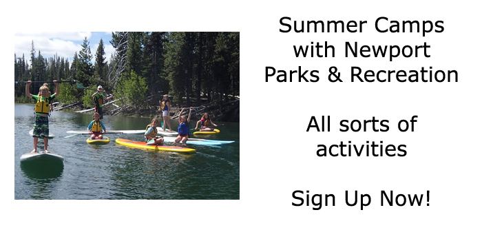 Summer Camps with Newport Parks & Recreation