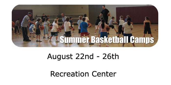 Summer Basketball Camps - sign up now