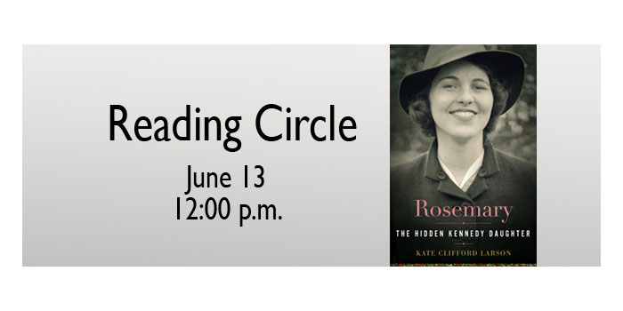 Reading Circle - Rosemary The Hidden Kennedy Daughter