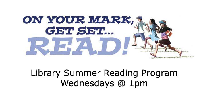 On your mark, get set, Read! Summer Reading with the Newport Library - sign up now!