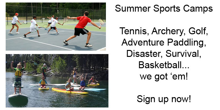 Summer Camps with the Newport Recreation Sports