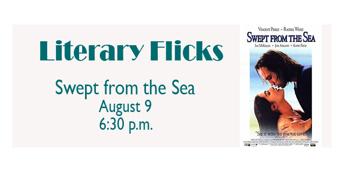 Literary Flicks at the Library - Swept from the Sea